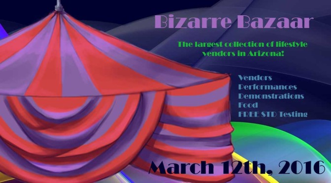 2016 APEX Bizarre Bazaar March 12th