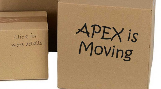 Exciting Announcement: APEX is MOVING!